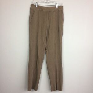 Talbots   Brown Trousers size 8 Long